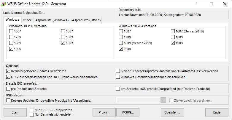 WSUS-Offline Update Generator