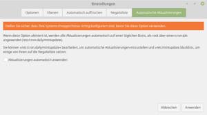 Linux Mint 19 Autoupdate