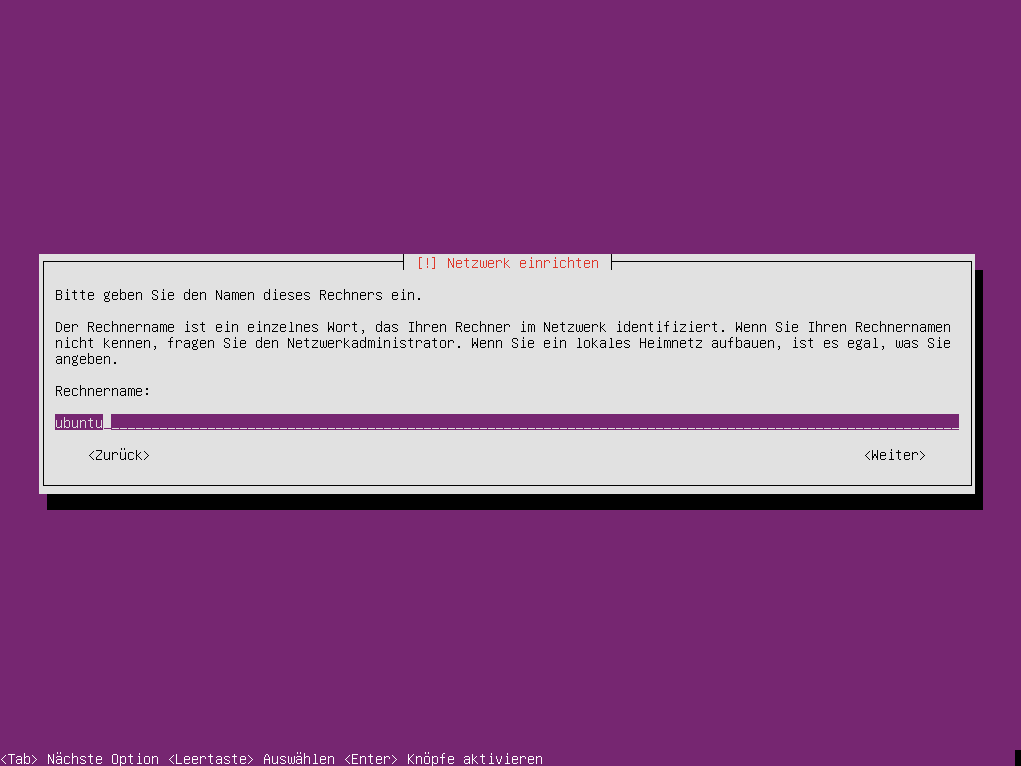 Ubuntu Netboot Installer