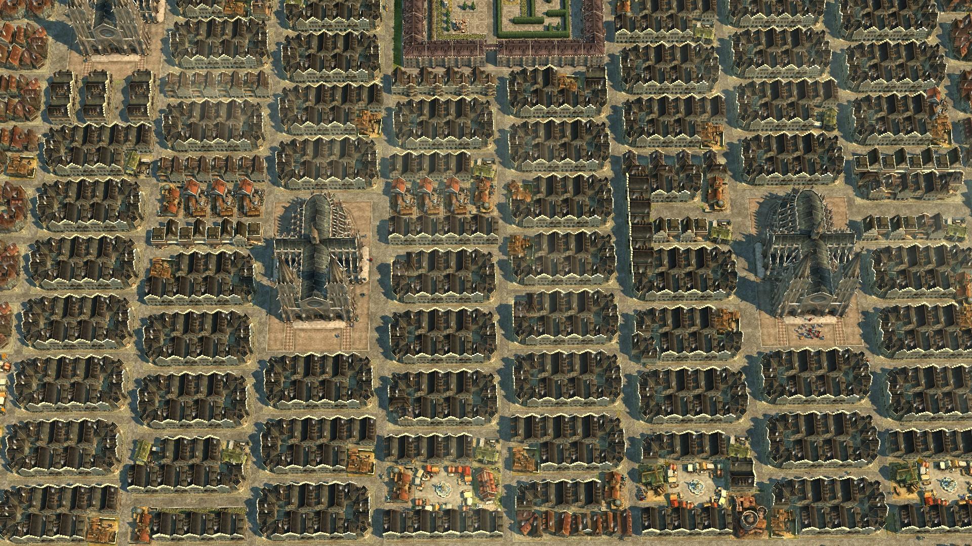 Anno 1404 Stadt - Ergebnis der CTD sicheren Grafikeinstellungen