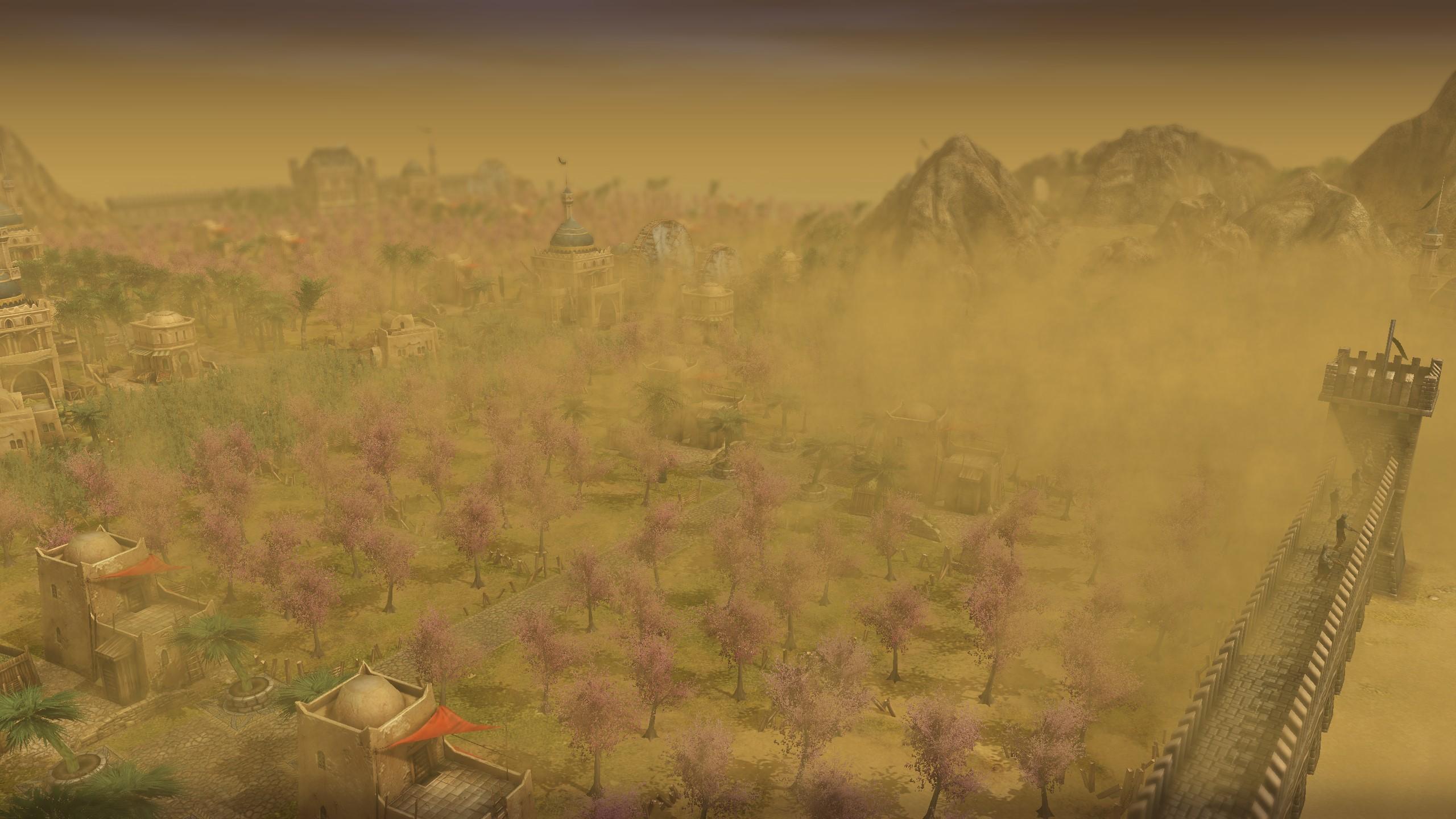 Anno 1404 Sandsturm - Ergebnis der experimentellen Grafikeinstellungen