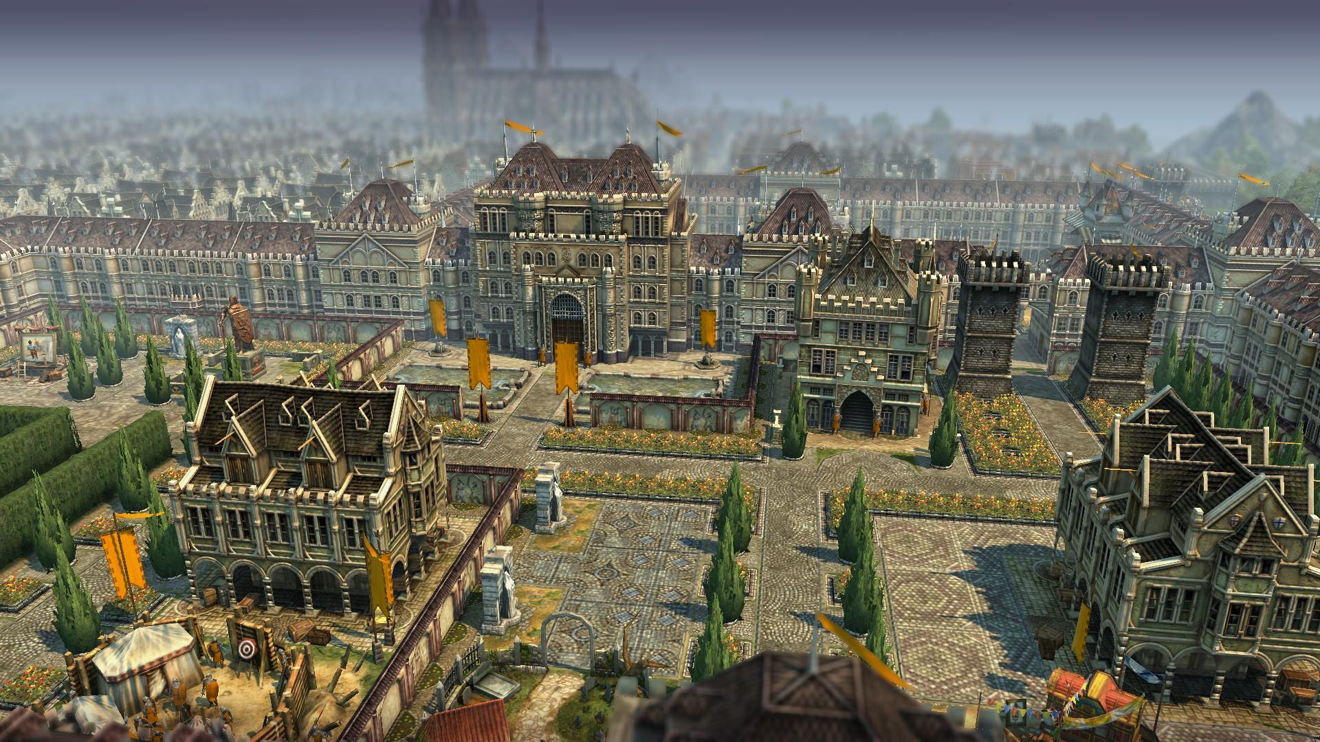 Anno 1404 Schloss - Ergebnis der CTD sicheren Grafikeinstellungen