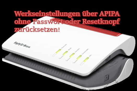 FRITZ!Box Reset APIPA
