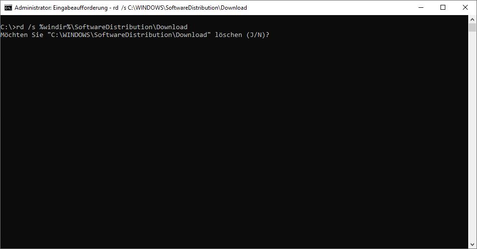 Windows 10 Updater SoftwareDistribution